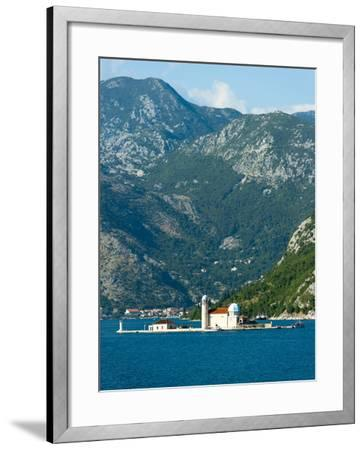 Gospa Od Skrpjela (Our Lady of the Rock) Island, Bay of Kotor, UNESCO World Heritage Site, Monteneg-Emanuele Ciccomartino-Framed Photographic Print