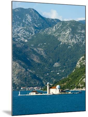 Gospa Od Skrpjela (Our Lady of the Rock) Island, Bay of Kotor, UNESCO World Heritage Site, Monteneg-Emanuele Ciccomartino-Mounted Photographic Print