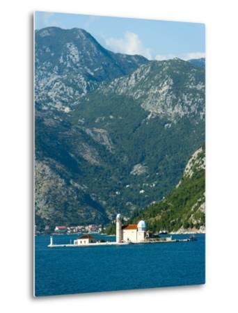 Gospa Od Skrpjela (Our Lady of the Rock) Island, Bay of Kotor, UNESCO World Heritage Site, Monteneg-Emanuele Ciccomartino-Metal Print