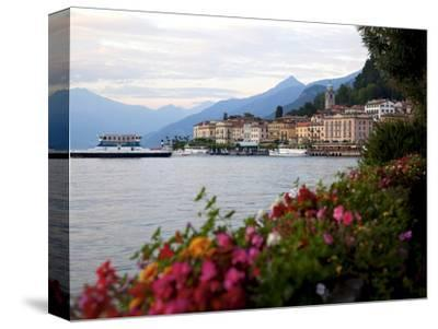 Town of Bellagio and Lake Como, Lombardy, Italian Lakes, Italy, Europe-Frank Fell-Stretched Canvas Print