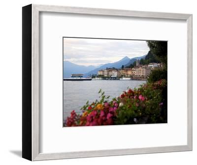 Town of Bellagio and Lake Como, Lombardy, Italian Lakes, Italy, Europe-Frank Fell-Framed Photographic Print