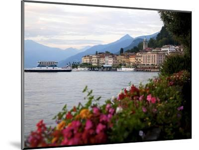 Town of Bellagio and Lake Como, Lombardy, Italian Lakes, Italy, Europe-Frank Fell-Mounted Photographic Print