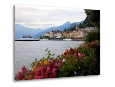 Town of Bellagio and Lake Como, Lombardy, Italian Lakes, Italy, Europe-Frank Fell-Metal Print