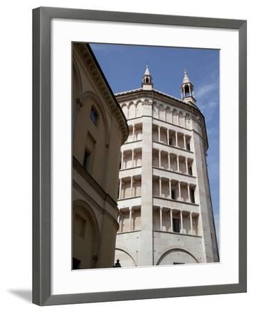 The Baptistry, Parma, Emilia Romagna, Italy, Europe-Frank Fell-Framed Photographic Print