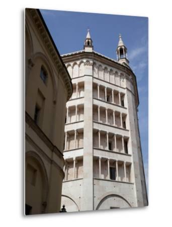 The Baptistry, Parma, Emilia Romagna, Italy, Europe-Frank Fell-Metal Print