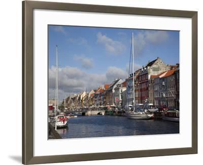 Nyhavn, Copenhagen, Denmark, Scandinavia, Europe-Frank Fell-Framed Photographic Print