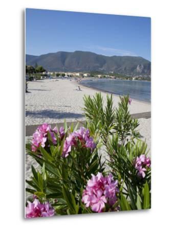 Beach Scene, Alykanas, Zakynthos, Ionian Islands, Greek Islands, Greece, Europe-Frank Fell-Metal Print