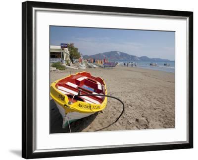 Beach, Laganas, Zakynthos, Ionian Islands, Greek Islands, Greece, Europe-Frank Fell-Framed Photographic Print