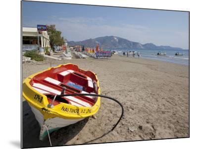 Beach, Laganas, Zakynthos, Ionian Islands, Greek Islands, Greece, Europe-Frank Fell-Mounted Photographic Print