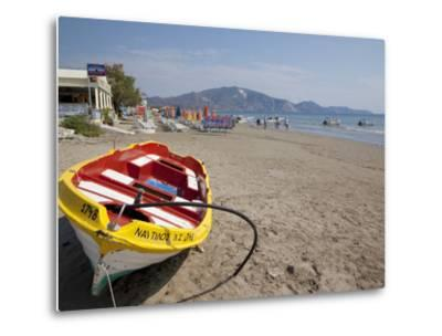 Beach, Laganas, Zakynthos, Ionian Islands, Greek Islands, Greece, Europe-Frank Fell-Metal Print
