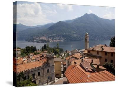 Lakeside Village, Lake Como, Lombardy, Italian Lakes, Italy, Europe-Frank Fell-Stretched Canvas Print