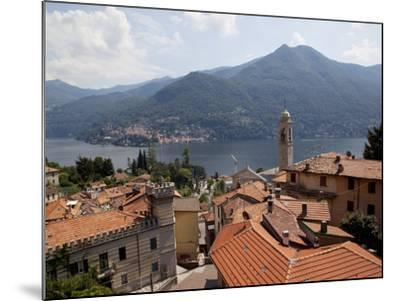 Lakeside Village, Lake Como, Lombardy, Italian Lakes, Italy, Europe-Frank Fell-Mounted Photographic Print