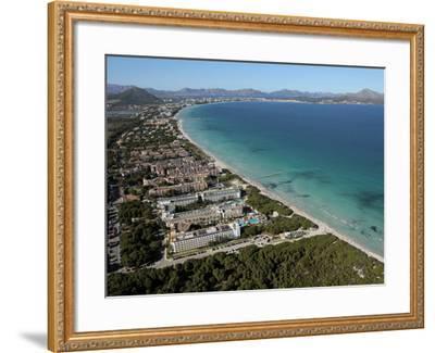 Platja D'Alcudia, Mallorca, Balearic Islands, Spain, Mediterranean, Europe-Hans Peter Merten-Framed Photographic Print