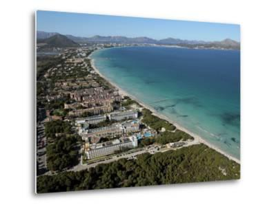 Platja D'Alcudia, Mallorca, Balearic Islands, Spain, Mediterranean, Europe-Hans Peter Merten-Metal Print