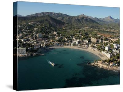 Playa De Peguera, Mallorca, Balearic Islands, Spain, Mediterranean, Europe-Hans Peter Merten-Stretched Canvas Print