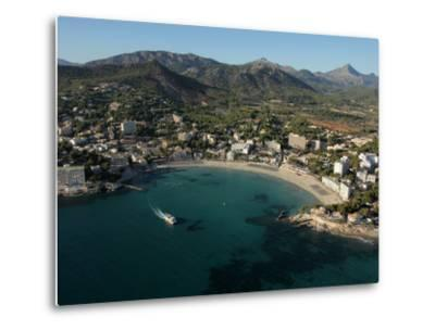 Playa De Peguera, Mallorca, Balearic Islands, Spain, Mediterranean, Europe-Hans Peter Merten-Metal Print
