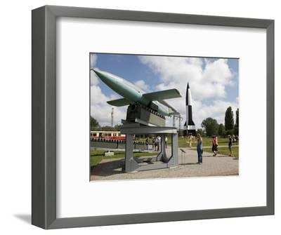 Historic-Technical Museum, Peenemunde, Usedom, Mecklenburg-Western Pomerania, Germany, Europe-Hans Peter Merten-Framed Photographic Print