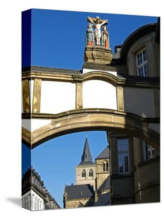 Cathedral, UNESCO World Heritage Site, Trier, Rhineland-Palatinate, Germany, Europe-Hans Peter Merten-Stretched Canvas Print