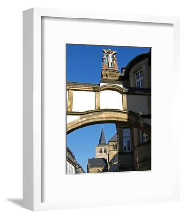 Cathedral, UNESCO World Heritage Site, Trier, Rhineland-Palatinate, Germany, Europe-Hans Peter Merten-Framed Photographic Print