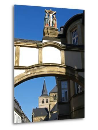 Cathedral, UNESCO World Heritage Site, Trier, Rhineland-Palatinate, Germany, Europe-Hans Peter Merten-Metal Print