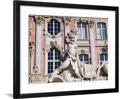 Electoral Palace, Trier, Rhineland-Palatinate, Germany, Europe-Hans Peter Merten-Framed Photographic Print