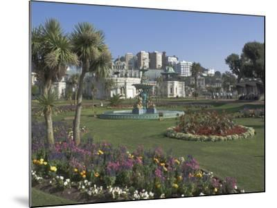 The Promenade Gardens, Torquay, Devon, England, United Kingdom, Europe-James Emmerson-Mounted Photographic Print