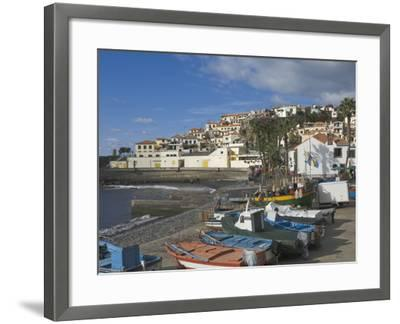 The Fishing Village of Camara De Lobos, a Favourite of Sir Winston Churchill, Madeira, Portugal, At-James Emmerson-Framed Photographic Print
