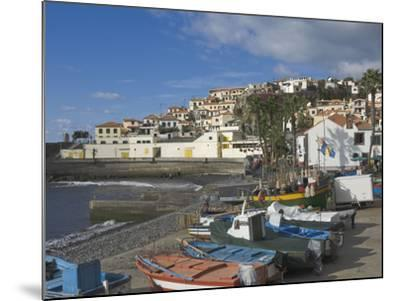 The Fishing Village of Camara De Lobos, a Favourite of Sir Winston Churchill, Madeira, Portugal, At-James Emmerson-Mounted Photographic Print