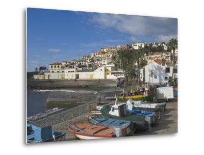 The Fishing Village of Camara De Lobos, a Favourite of Sir Winston Churchill, Madeira, Portugal, At-James Emmerson-Metal Print