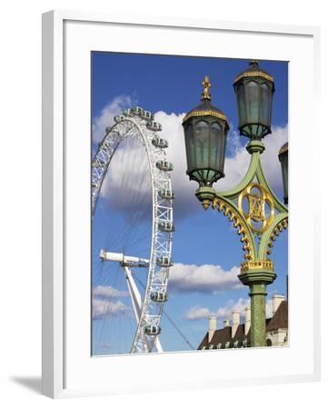 London Eye, London, England, United Kingdom, Europe-Jeremy Lightfoot-Framed Photographic Print