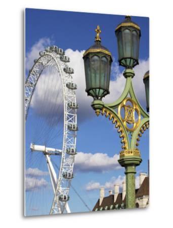London Eye, London, England, United Kingdom, Europe-Jeremy Lightfoot-Metal Print