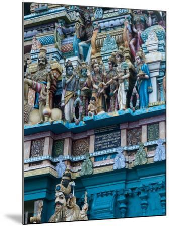 Hindu Temple Exterior, Colombo, Sri Lanka, Asia-Kim Walker-Mounted Photographic Print