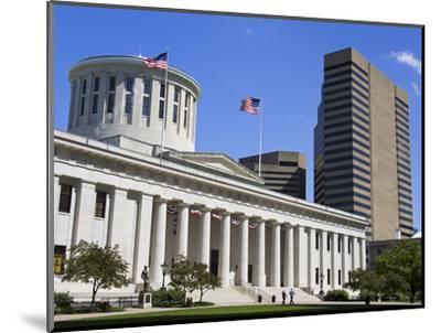 Ohio Statehouse, Columbus, Ohio, United States of America, North America-Richard Cummins-Mounted Photographic Print