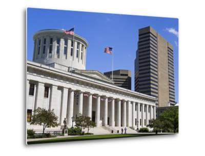 Ohio Statehouse, Columbus, Ohio, United States of America, North America-Richard Cummins-Metal Print