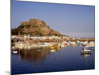 Mont Orgeuil Castle, Gorey, Jersey, Channel Islands, United Kingdom, Europe-Rolf Richardson-Mounted Photographic Print