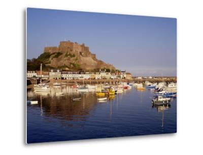 Mont Orgeuil Castle, Gorey, Jersey, Channel Islands, United Kingdom, Europe-Rolf Richardson-Metal Print