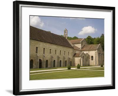 Fontenay Abbey, UNESCO World Heritage Site, Burgundy, France, Europe-Rolf Richardson-Framed Photographic Print