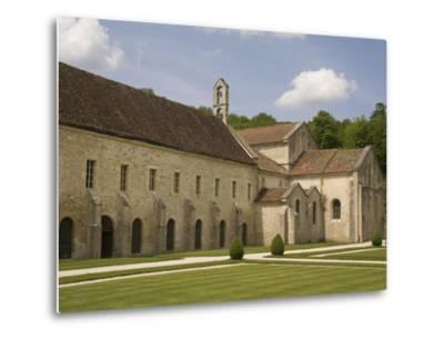 Fontenay Abbey, UNESCO World Heritage Site, Burgundy, France, Europe-Rolf Richardson-Metal Print