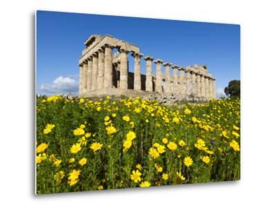Selinus Greek Temple in Spring, Selinunte, Sicily, Italy, Europe-Stuart Black-Metal Print