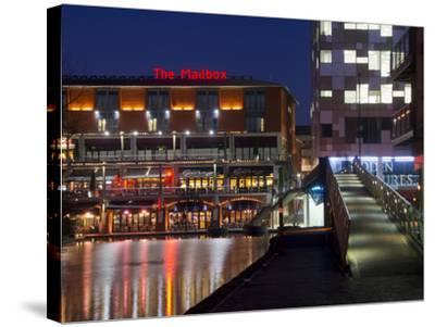 The Mailbox, Canal Area, Birmingham, Midlands, England, United Kingdom, Europe-Charles Bowman-Stretched Canvas Print
