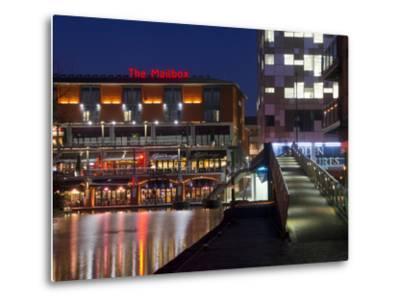 The Mailbox, Canal Area, Birmingham, Midlands, England, United Kingdom, Europe-Charles Bowman-Metal Print