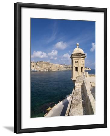 Fort St. Michael, Senglea, Grand Harbour, Valletta, Malta, Mediterranean, Europe-Hans Peter Merten-Framed Photographic Print