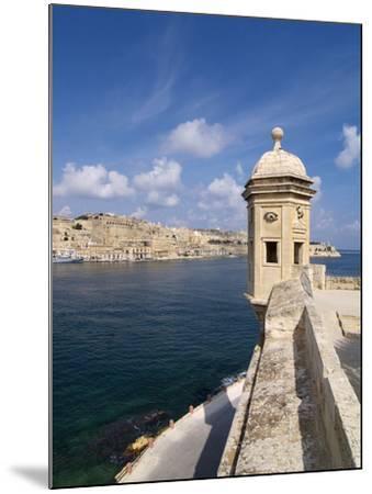 Fort St. Michael, Senglea, Grand Harbour, Valletta, Malta, Mediterranean, Europe-Hans Peter Merten-Mounted Photographic Print