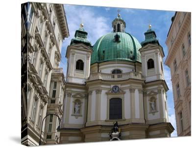 Church of St. Peter, Vienna, Austria, Europe-Hans Peter Merten-Stretched Canvas Print