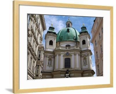 Church of St. Peter, Vienna, Austria, Europe-Hans Peter Merten-Framed Photographic Print