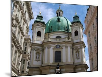 Church of St. Peter, Vienna, Austria, Europe-Hans Peter Merten-Mounted Photographic Print