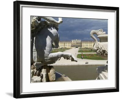 Schonbrunn Palace, UNESCO World Heritage Site, Vienna, Austria, Europe-Hans Peter Merten-Framed Photographic Print
