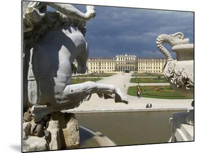 Schonbrunn Palace, UNESCO World Heritage Site, Vienna, Austria, Europe-Hans Peter Merten-Mounted Photographic Print