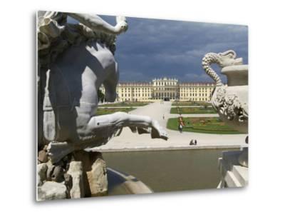 Schonbrunn Palace, UNESCO World Heritage Site, Vienna, Austria, Europe-Hans Peter Merten-Metal Print