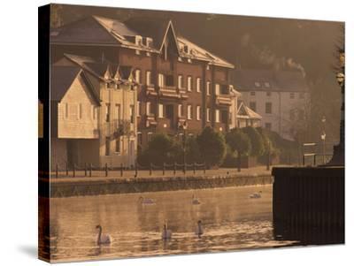 Exeter Quay, Exeter, Devon, England, United Kingdom, Europe-Jeremy Lightfoot-Stretched Canvas Print